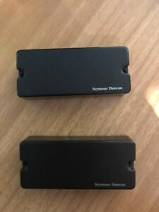 Seymour Duncan Blackouts Soapbar 7 string (with wiring and pots)