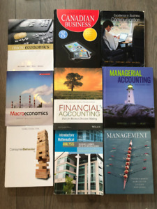 Selling Dalhousie Commerce Textbooks for Cheap!!