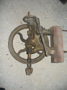 Vintage or antique post drill Kitchener / Waterloo Kitchener Area image 1