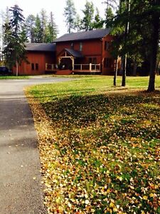 Large Private Yard 4 Br House Rental, Whitecourt. Furnished!!