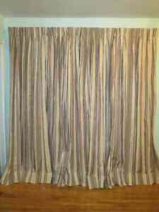 Custom made,new pinch pleated, drapery-curtains for two windows Kingston Kingston Area image 6