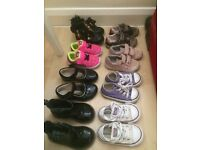 8 pairs of size 5 toddler shoes £20