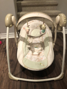 Ingenuity Bright Starts Portable Swing for Sale