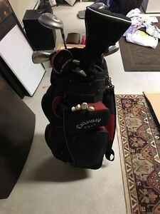 Callaway Golf Bag with Clubs / 60$ or best offer