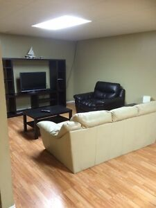 Basement of a house for rent fully furnished