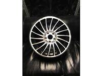 "17"" alloy wheels alloys rims tyre tyres 5x112 Vw Volkswagen seat skoda Audi"
