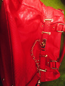 Steve Madden Pink Faux Leather Purse