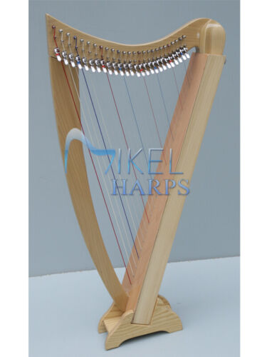 Lily Lap 26 String Harp by Mikel Harps