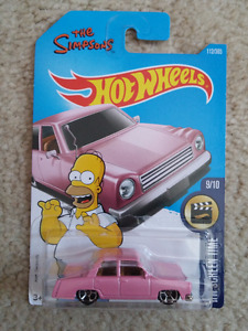 The Simpsons Hot Wheels car
