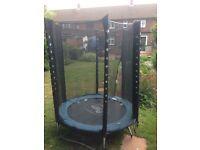 Small plum trampoline