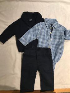 Excellent Condition 3-6 months Boy Outfit (3 piece)
