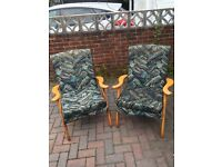 Genuine Parker Knoll Armchairs
