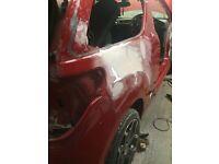 Citroen ds3 12 plate cat d damage