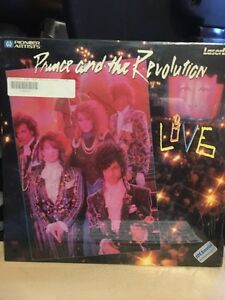 Prince and The Revolution live laserdisc