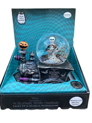 Nightmare Before Christmas Jack & Zero Snow Globe 2020 Train Wallgreens Exclusiv