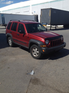 2006 Jeep Liberty SUV Diesel 4x4, Used, for sale