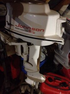 5 1/2 hp Johnson outboard