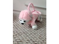 Brand new with tags kids poodle bag