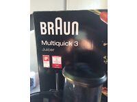 Braun Multiquick 3 Juicer