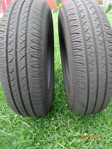 2 HANKOOK Tires : P175/70R14 up for Sale