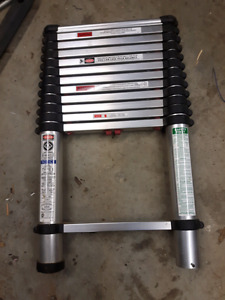12.5 foot Telesteps ladder half price from new.