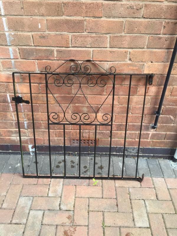 Wrought Iron Gate In Kirkby In Ashfield Nottinghamshire