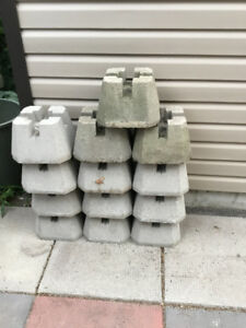 Deck/Fence  Blocks