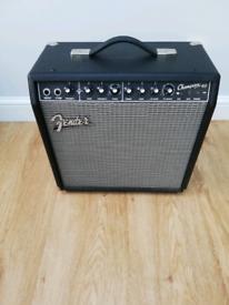 Fender guitar amplifier for sale
