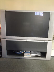 High def rear projection tv (Panasonic)
