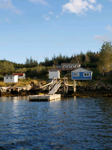 Cabin on Woody Island Placentia Bay