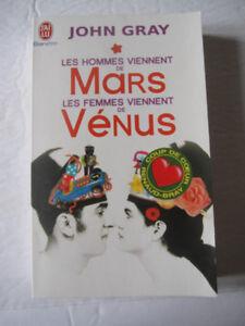Livre Les Hommes viennent de Mars Les femmes viennent de Vénus