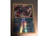 Gyarados Holo Pokémon trading card