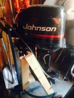 25 hp Johnson oil injected outboard
