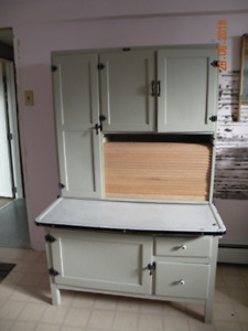 antique hoosier cabinet ( price is firm )