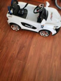 Kids toy sports car