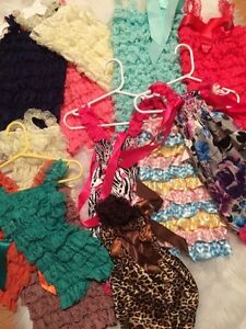 Rompers, bloomers, headbands and more!