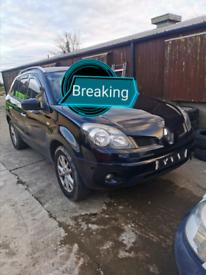 Renault keleos breaking parts spares Breaker breakers