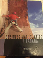 Selling Business Mathematics in Canada Fifth edition