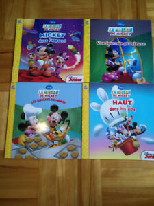 Lot de 4 livres phidal mickey Disney