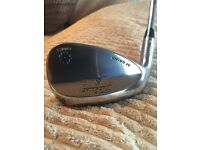 """Left handed Titleist vokey wedges 54"""" and 58"""" excellent condition"""