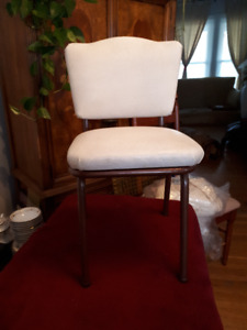 vintage vinyl child's kitchen chair