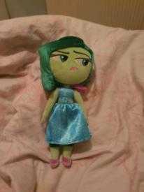 Inside Out Sadness plush doll
