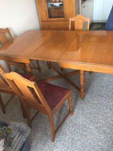 antique wooden table $800.00 obo