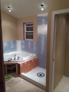 Drywall renovation removal and installation Kitchener / Waterloo Kitchener Area image 1