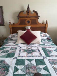 Upper Canadian Antique Bed