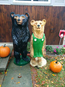 Chainsaw Carved Mama Bear Gatineau Ottawa / Gatineau Area image 3