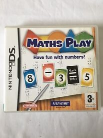 Nintendo DS Game- Maths Play