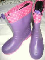Kamik snowkones lilac size 5 for youth--brand new