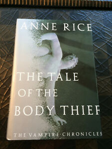 """Tale of the Body Thief"" by Anne Rice - original 1992 Hardcover"