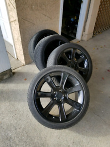 Tires and Rims 275/40R20. / 5x114.5